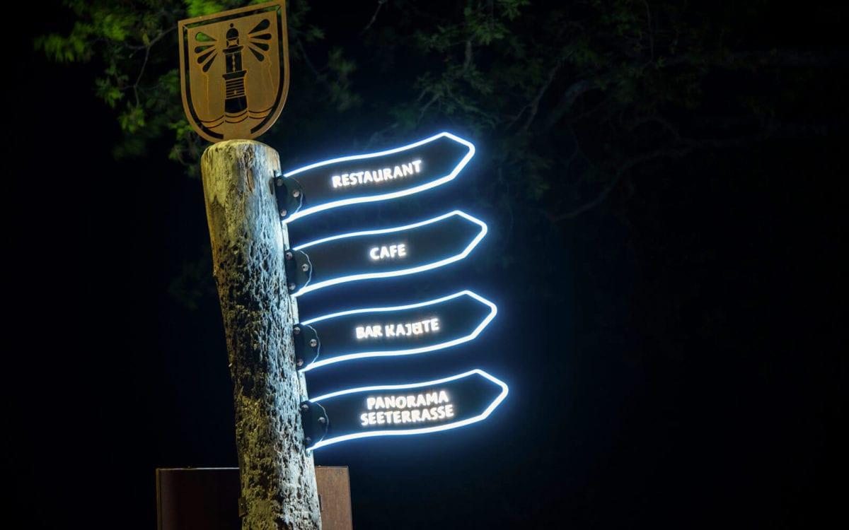 Wir bauen vor allem individuelle Leuchtreklame