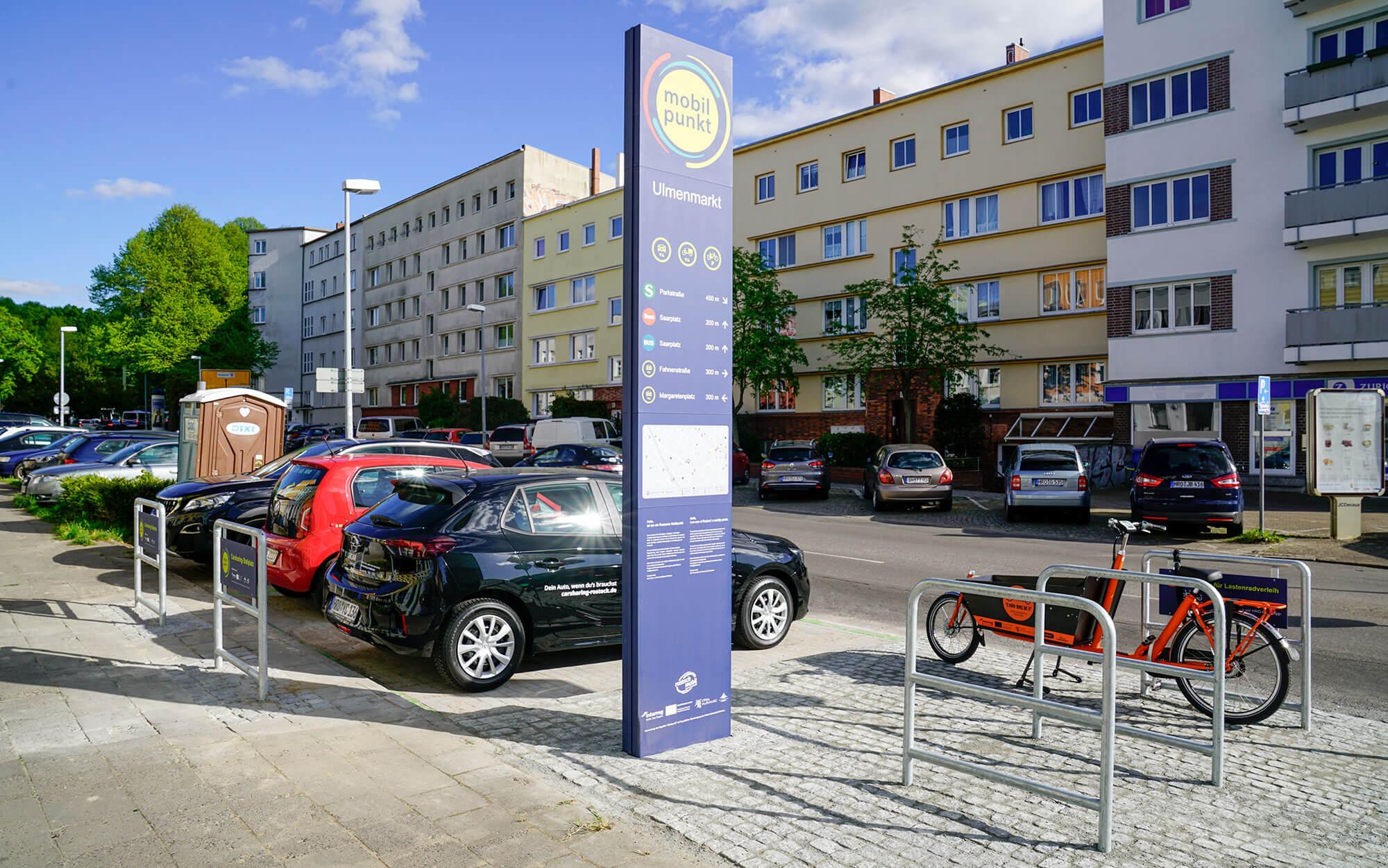 Mobilpunkt am Ulmenmarkt