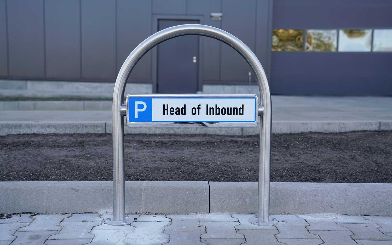 Fenix Parkplatzschild