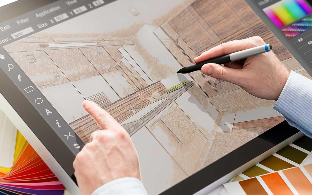 Werbung Grafik Tablet